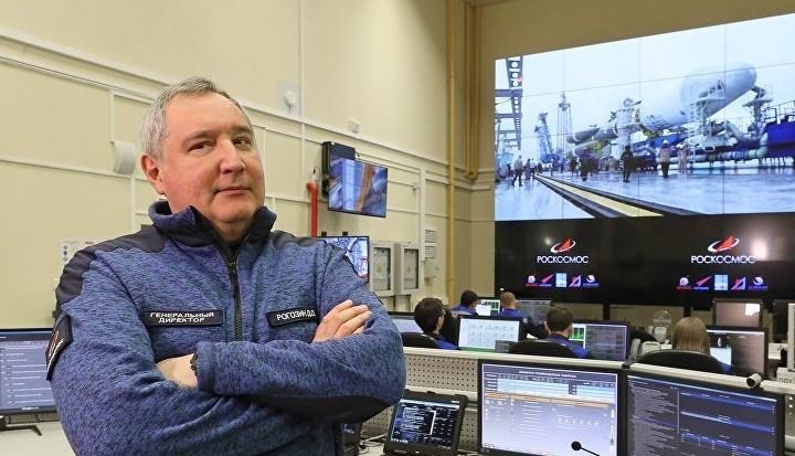 Глава Роскосмоса Дмитрий Рогозин. Фото: ria.ru
