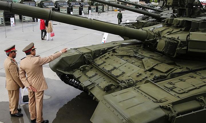 В 2020 году Россия заключила оружейных контрактов на $5 миллиардов, а за три года - $50 миллиардов.