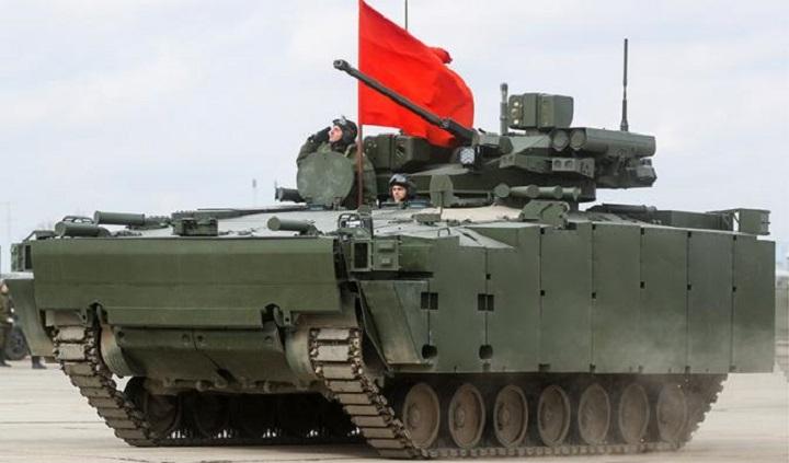 Испытания БМП «Курганец-25» запланированы на осень 2022 года.