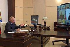 Путин считает, что экономика России восстанавливается.