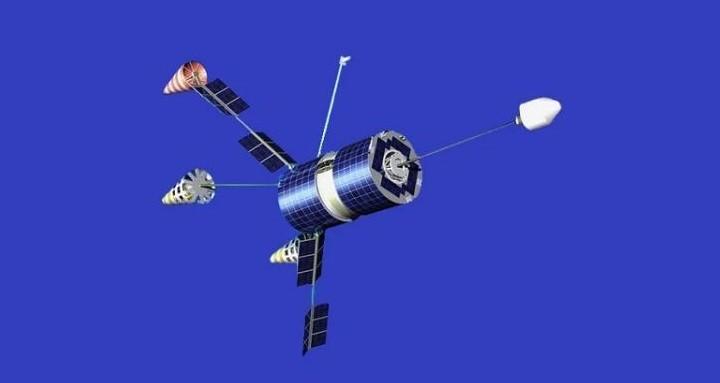 Спутник «Гонец-М».