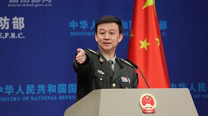 Официальный представитель Минобороны КНР У Цянь. Фото: RT