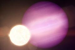 Астрофизики обнаружили гигантскую планету, вращающуюся вокруг мертвой звезды.