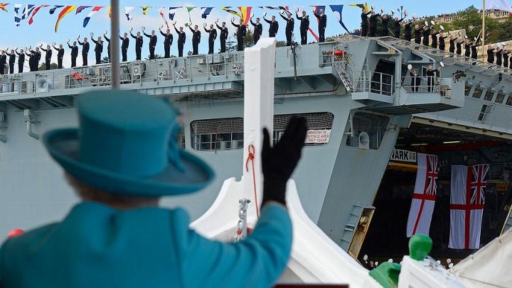 Флот Её Величества захотел править в Русской Арктике.