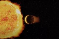 Вокруг звезды, похожей на Солнце, обнаружен сверхгорячий Нептун.