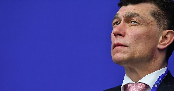 Председатель Пенсионного фонда России Максим Топилин.