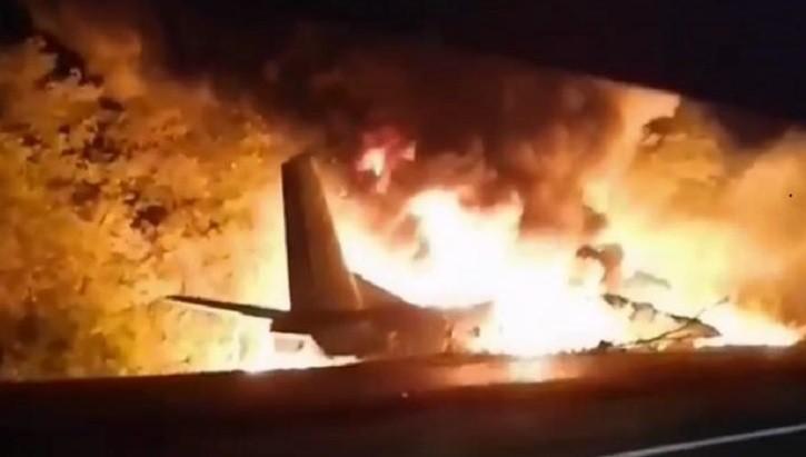 На Украине разбился военный самолет с курсантами на борту. фото 2