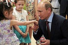 Путин одобрил создание Фонда защиты детей