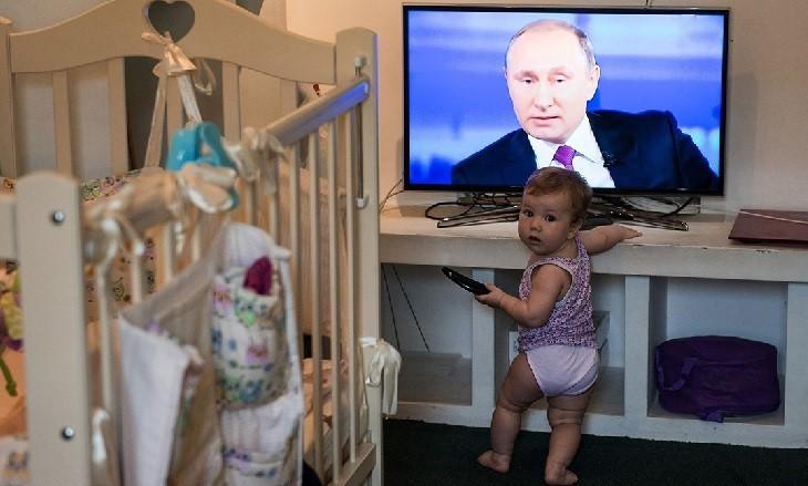 Путин: У меня есть внуки и я счастлив с ними фото 2