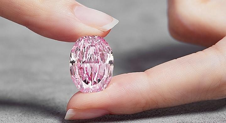Розовый бриллиант «Видение Розы». Фото: kommersant.ru