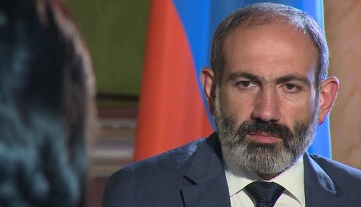 Премьер-министр Армении Никол Пашинян. Фото: mir24.tv