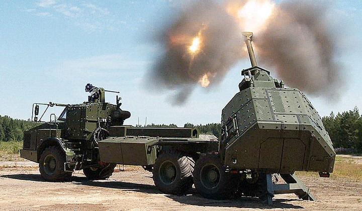 Военных США восхитила шведская дальнобойная пушка Archer