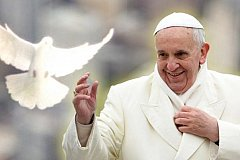 Папа Римский приветствует легализацию однополых семей