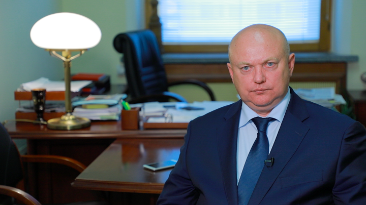 Первый зампред комитета Государственной думы РФ по обороне Андрей Красов.