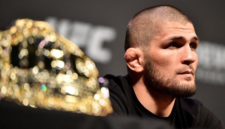 Очередная и неоспоримая победа! Хабиб защитил титул чемпиона UFC! фото 2