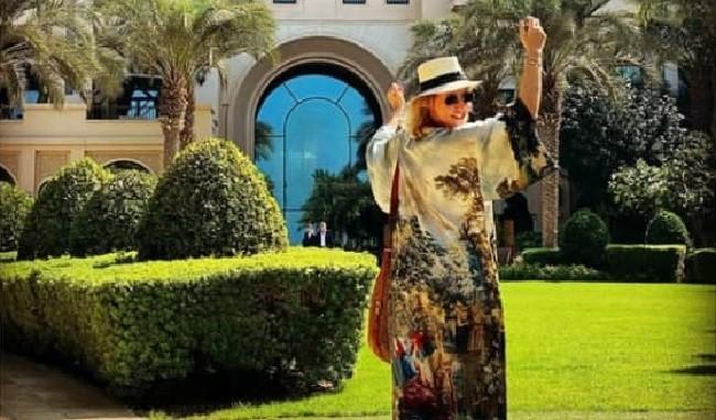 Ксения Собчак в Дубае. Фото: Instagram