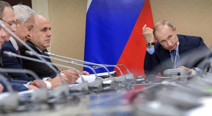 Ряд российских министров отправлены в отставку