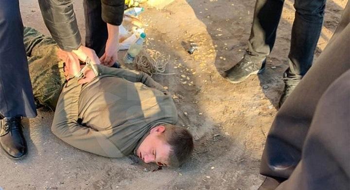 Расстрелявший своих сослуживцев солдат задержан