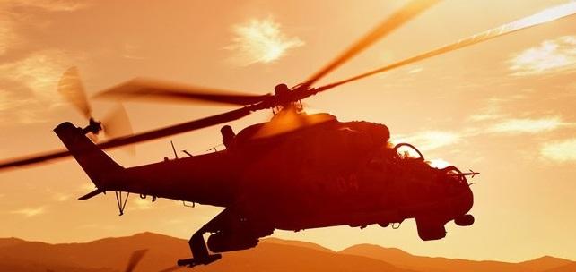 В Армении сбит российский военный вертолет