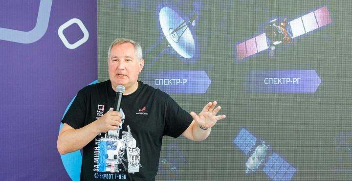 На портале «Роскосмоса» опубликовали песни Рогозина