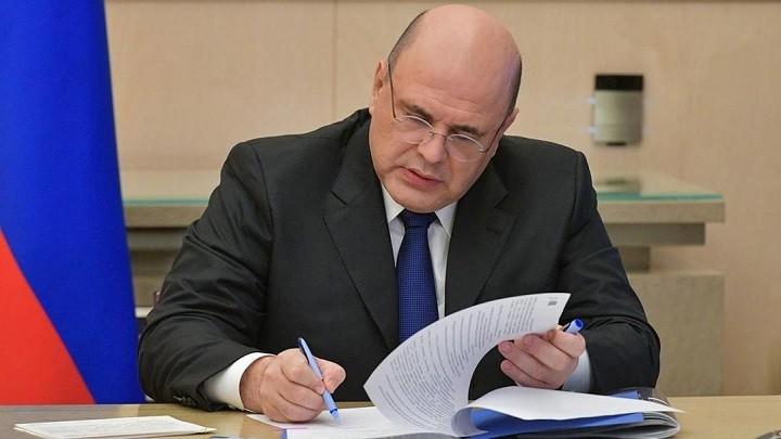 Премьер-министр России Михаил Мишустин.