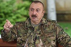 Алиев: Армения заплатит за разрушенный Карабах