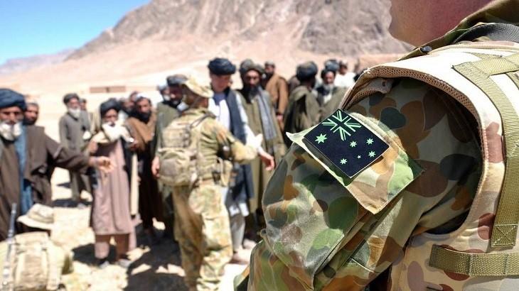 Австралийские солдаты в Афганистане.