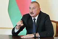 Алиев поздравил сограждан с контролем над Кельбаджаром и назвал Армению террористической страной