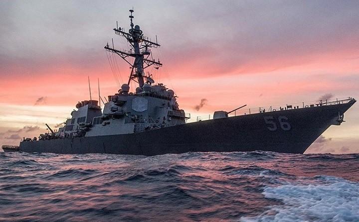 Эсминец ВМС США «Джон Маккейн».