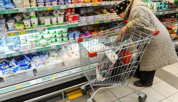 В России в три раза быстрее, чем в ЕС подорожали продукты питания
