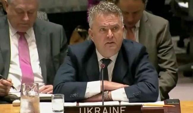 Постпред Украины в ООН Сергей Кислица