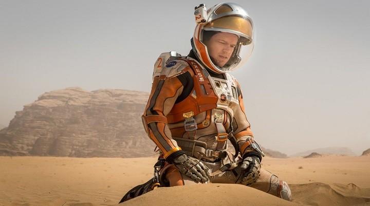 Кадр из фильма «Марсианин» (США, 2015 год).