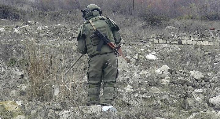 В Карабахе при разминировании погиб российский офицер