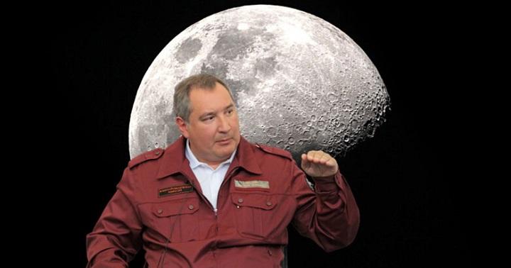 Рогозин отправит российские аппараты на Луну
