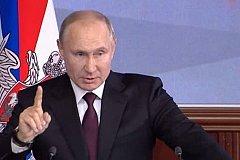 Путин потребовал от Минобороны не уступить ни в чем ведущим армиям мира
