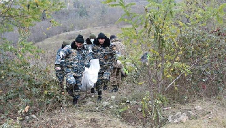 В Карабахе найдены тела более тысячи погибших