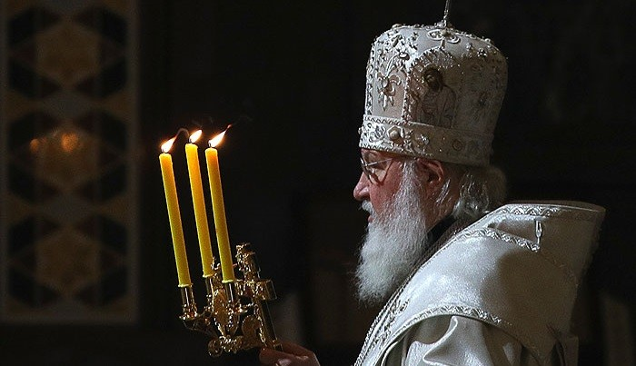Патриарх Кирилл. Фото: ТАСС