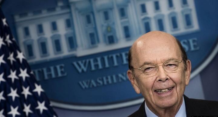 Министр торговли США Уилбур Росс. Фото: AFP