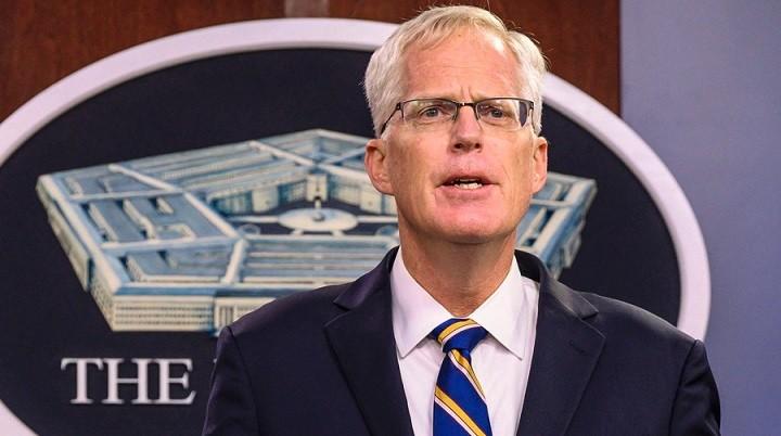 Исполняющий обязанности главы Министерства обороны США Кристофер Миллер. Фото: ВВС