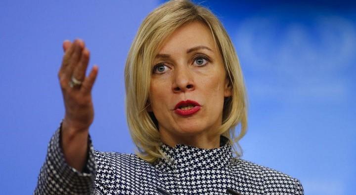 Официальный представитель МИД России Мария Захарова. Фото: DW