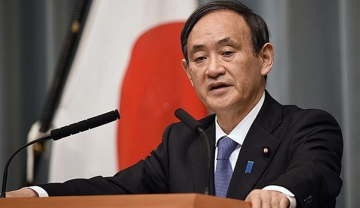 Премьер-министр Есихидэ Суга. Фото: AP