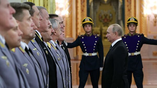 В России на 62 генерала и адмирала стало больше