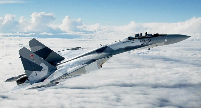 Одним из самых красивых самолетов в мире назван российский Су-35