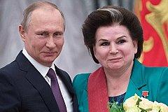 Путин поздравил Терешкову с днем рождения и выразил удовлетворение ее работой в Думе