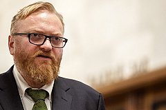 Милонову депутатской зарплаты на жизнь не хватает