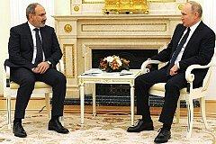 Пашинян просит Путина построить новую АЭС в Армении