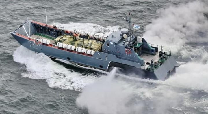 В Черное море зашли корабли Каспийской флотилии