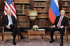 После переговоров Путин и Байден не стали приглашать друг друга в гости