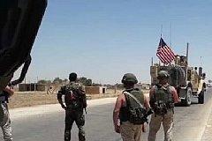 Военные России в Сирии заставили развернуться колонну армии США