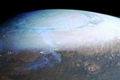 Под южным полюсом Марса могут быть десятки озер